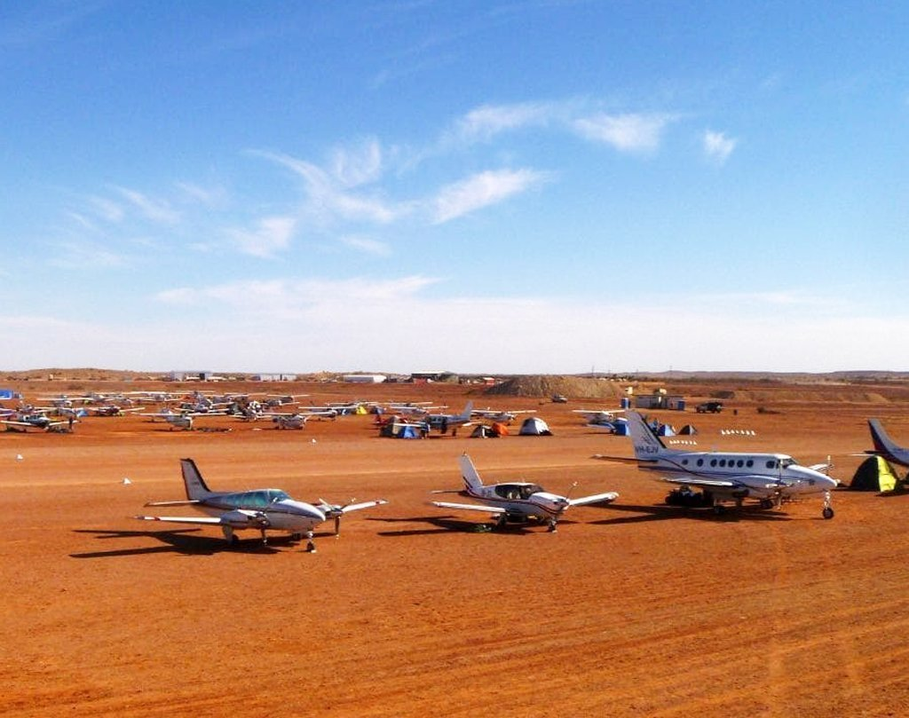 Birdsville air field