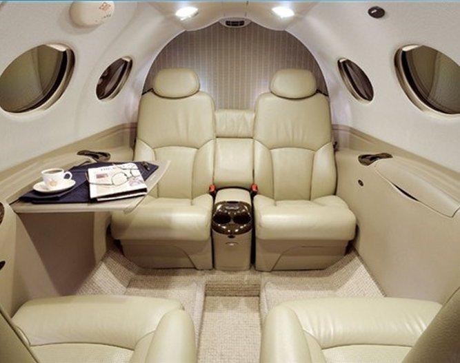 Cessna Mustang Interior