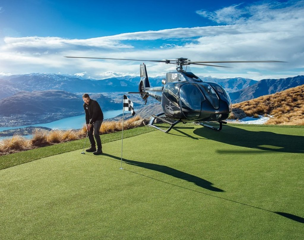 Helicopter Golf Transfers
