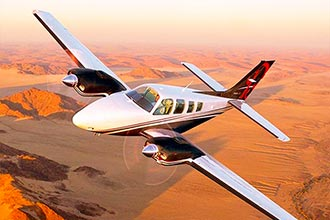 Beechcraft Baron Charter Flight