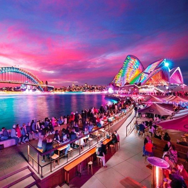 Vivid Sydney Air Charter