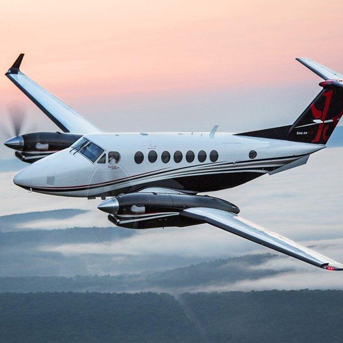 Beechcraft King Air B200 Charter Services