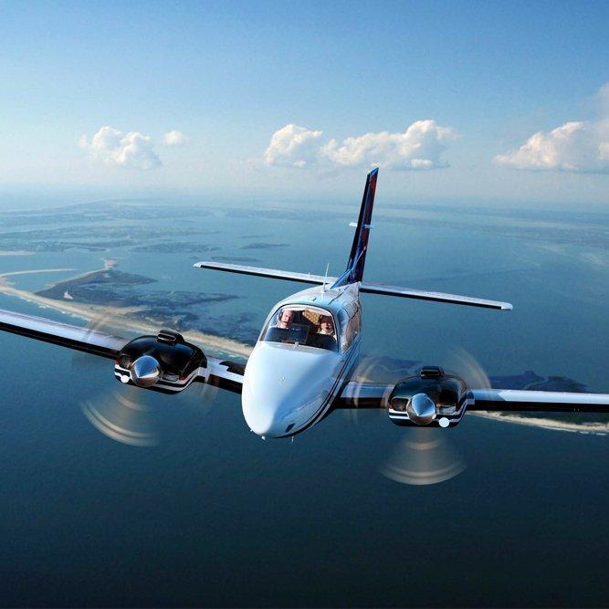 Brisbane Beechcraft Baron Aircraft Charter