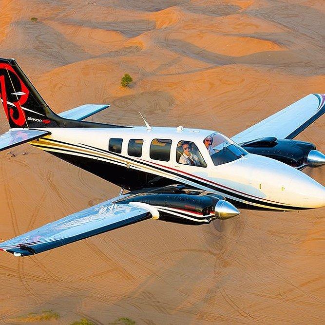 Coolangatta Beechcraft Baron Flying