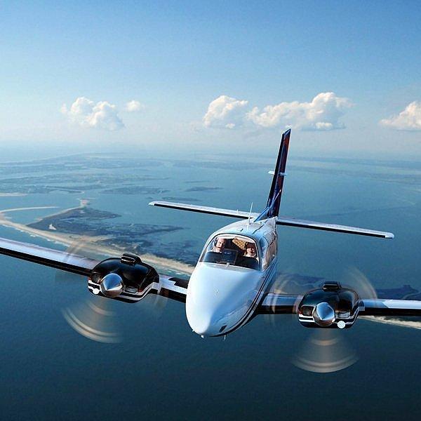 Beechcraft Baron Charter Flights