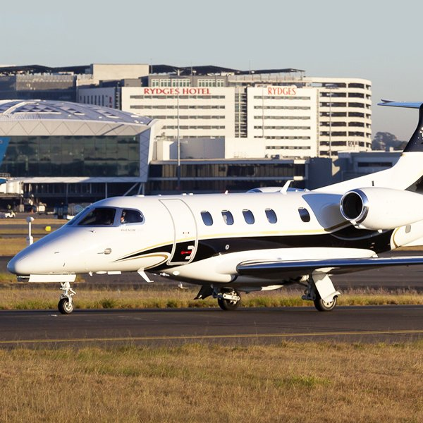 sydney air charter phenom 300E