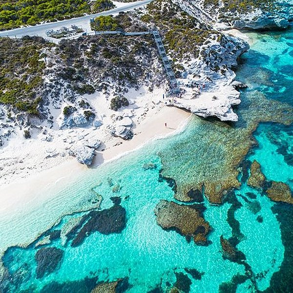 Fly to Rottnets Island from Perth