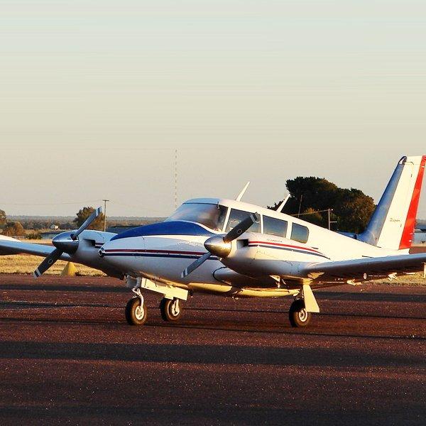 Newcastle Air Charter Twin Commanche