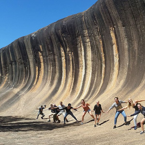 Flights from Perth to Wave Rock